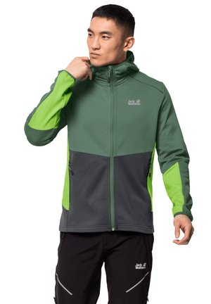MOUNT ISA - Fleece jacket - sage