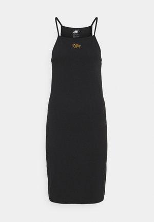 FEMME DRESS - Jersey dress - black