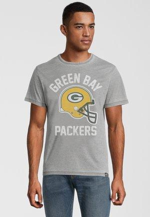 NFL GREEN BAY PACKERS HELMET - T-shirt print - dunkelgrau