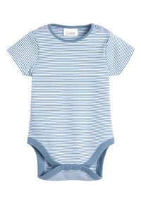 Next - BLUE APPLIQUé CHARACTER DUNGAREES AND BODYSUIT SET (0MTHS-2YRS) - Body - blue - 2