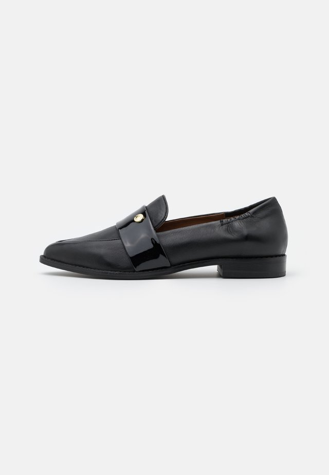 MOMENTS - Slip-ons - black