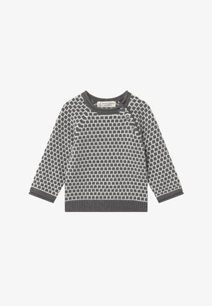 BABY - Jumper - dark grey /ivory