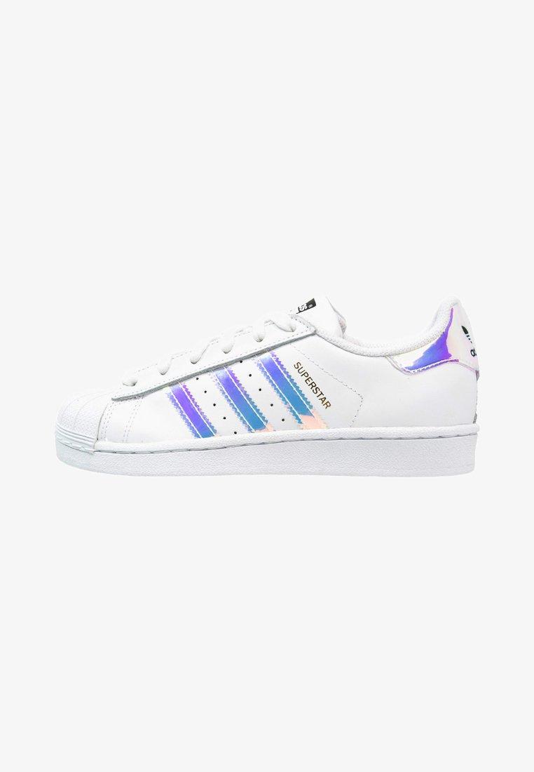 adidas Originals - SUPERSTAR - Sneakers - white/metallic silver
