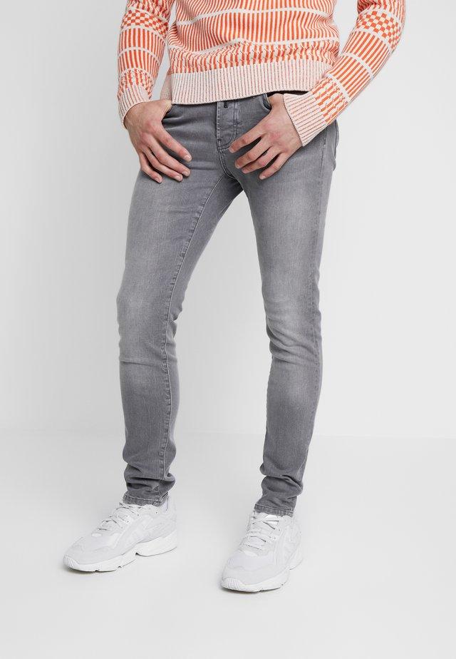 Jeansy Skinny Fit - grey denim