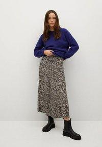Mango - BOMBAY - A-line skirt - violet clair/pastel - 1