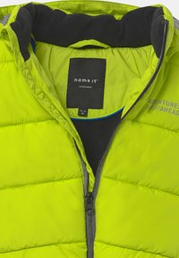 Name it - NMMMILTON PUFFER - Giacca invernale - acid lime - 4
