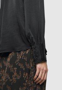 Bruuns Bazaar - BAUME ELIZABETH BLOUSE - Blouse - black - 6