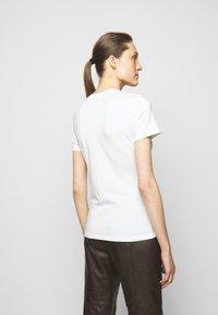 Proenza Schouler White Label - SOLID STRETCH - Printtipaita - off white - 2