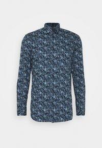SLHSLIMREX-VICK SHIRT SLIM FIT - Kostymskjorta - dark navy