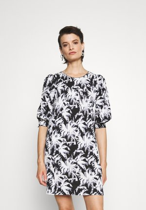 NOELLE DRESS - Jersey dress - medium black