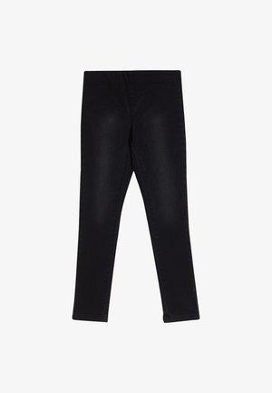 Leggings - Trousers - black denim