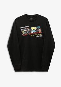 Vans - MN GREETINGS FROM LS - Långärmad tröja - black - 0