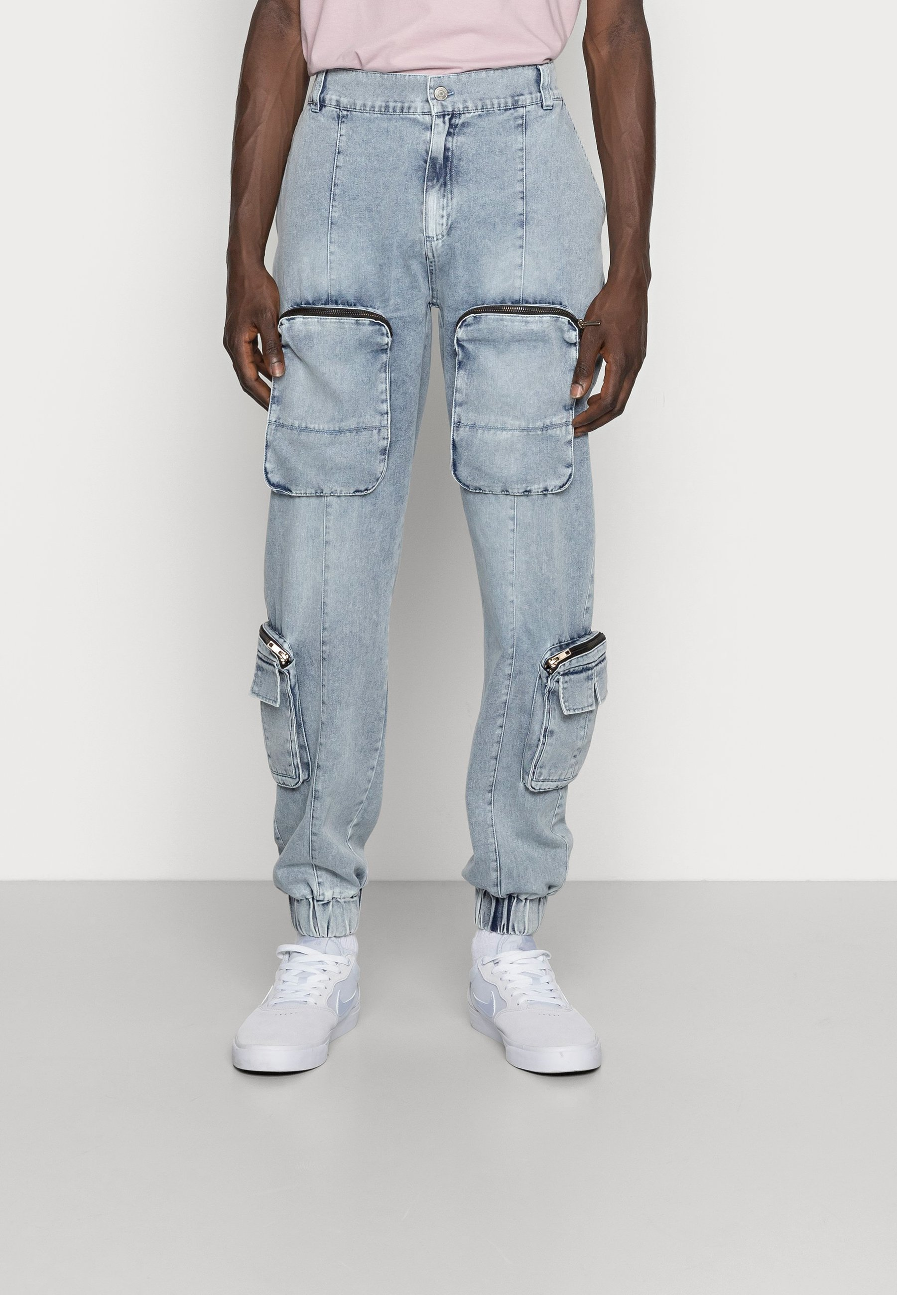 Men REVOLUTION - Cargo trousers