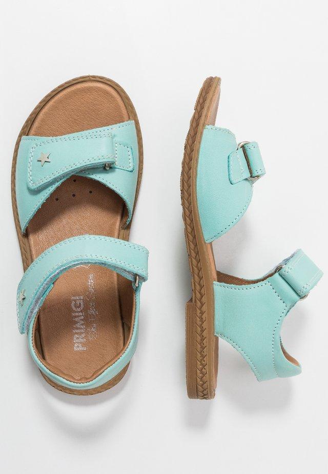 Sandals - acquamarina