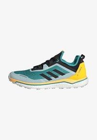 adidas Performance - TERREX AGRAVIC FLOW SHOES - Obuwie do biegania Szlak - turquoise - 1