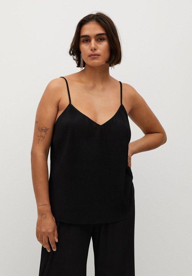 KENNER - Pyjamashirt - noir