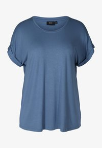 Zizzi - Basic T-shirt - blue - 3