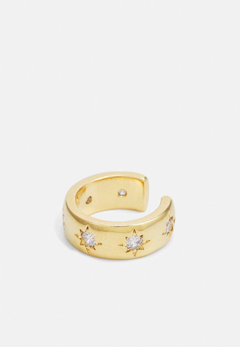 Orelia - CHUNKY STARBURST EAR CUFF - Earrings - gold-coloured