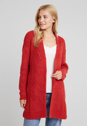 Strikjakke /Cardigans - rococco red