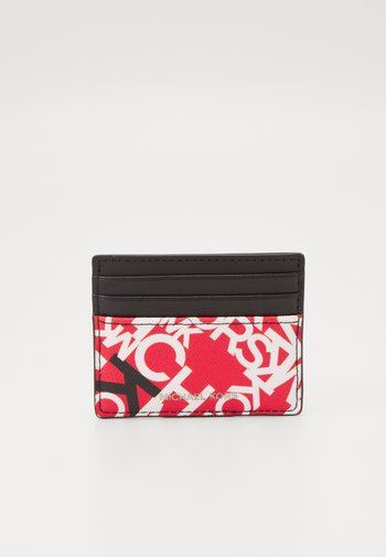 TALL CARD CASE UNISEX - Wallet - red/black