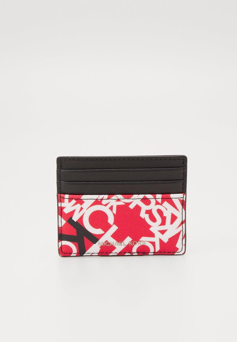 Michael Kors - TALL CARD CASE UNISEX - Wallet - red/black