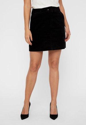 VMLEVI SHORT SKIRT - A-line skirt - black