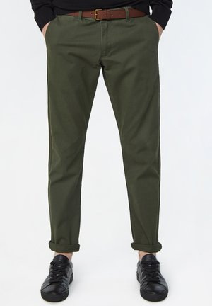 EFFEN  - Pantalones chinos - army green