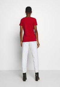 Esprit - CORE  - Basic T-shirt - dark red - 2