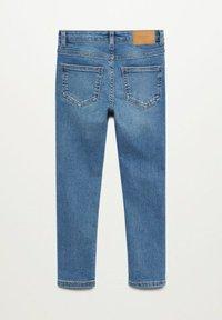Mango - Jeans Skinny Fit - middenblauw - 1
