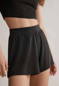 OYSHO - Pantaloni del pigiama - black - 2