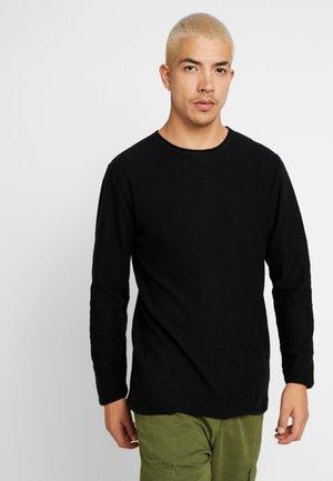 FINE GAUGE  - Stickad tröja - washed black