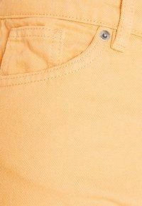 Monki - Straight leg jeans - mango yellow - 6
