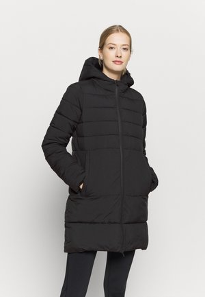 HOODED JACKET LEGACY - Vinterkåpe / -frakk - black