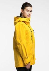 Haglöfs - ELATION GTX JACKET  - Snowboard jacket - pumpkin yellow - 2