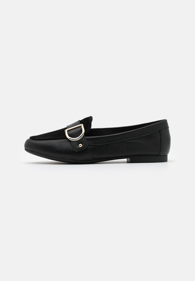 GRAYSY  - Loaferit/pistokkaat - black