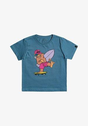 TRUST THE SUN - Camiseta estampada - captains blue