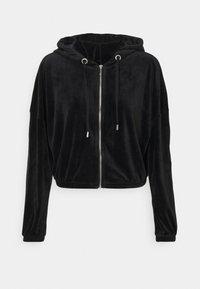 ONLY - ONLLAYA - Zip-up hoodie - black - 3