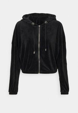 ONLLAYA - Sweater met rits - black