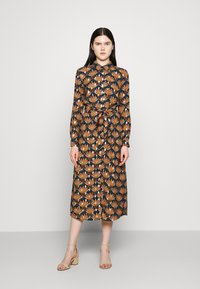 Vila - VIZINO MIDI DRESS - Shirt dress - navy blazer - 0