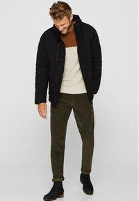 Esprit - MIT VARIABLER KAPUZE - Winter jacket - black - 1