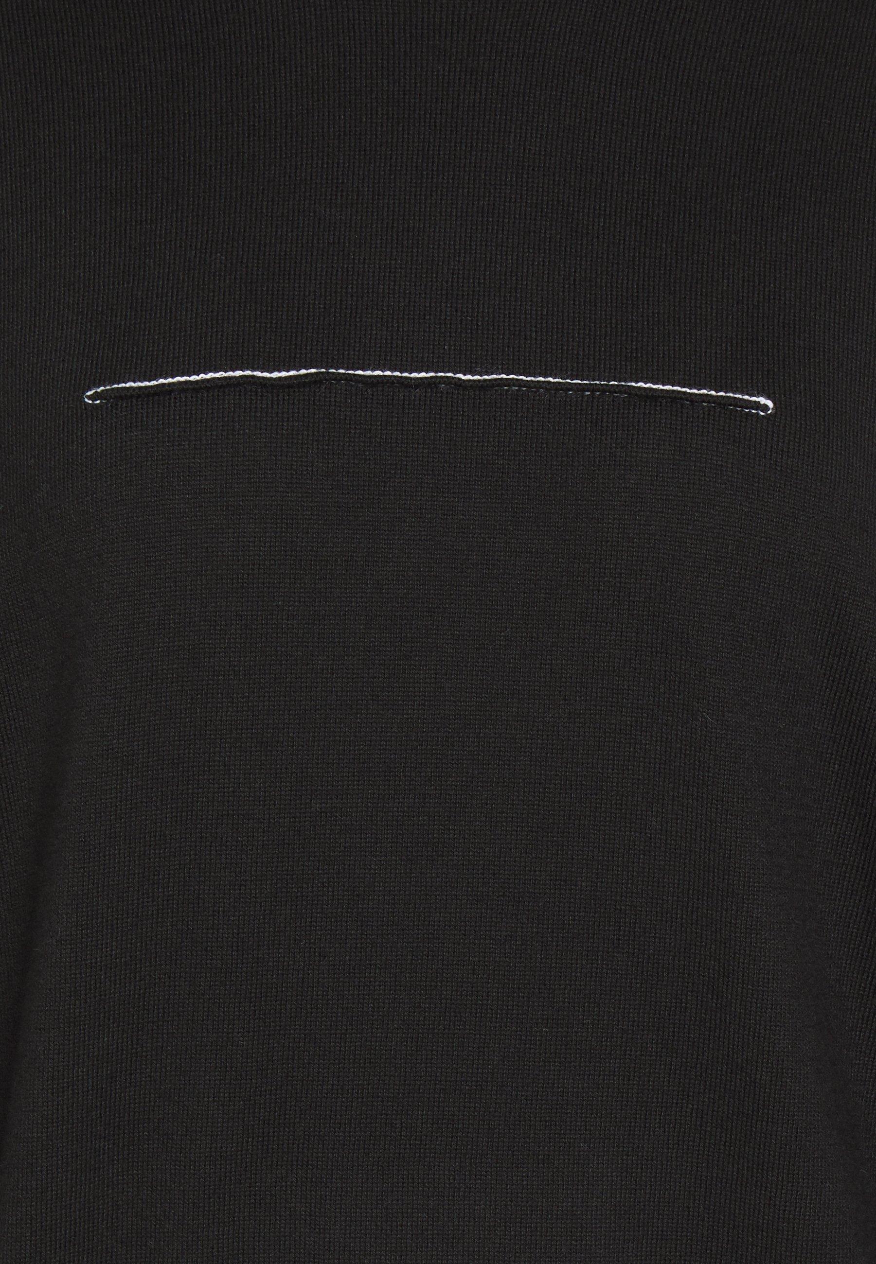 MM6 Maison Margiela Trui - black - Dames jas Actueel