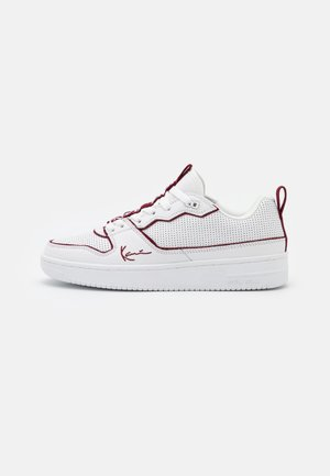 Sneakersy niskie - white/merlot
