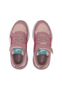 Puma - X-RAY AC KIDS - Baskets basses - peachskin-wht-foxglove-pink - 1