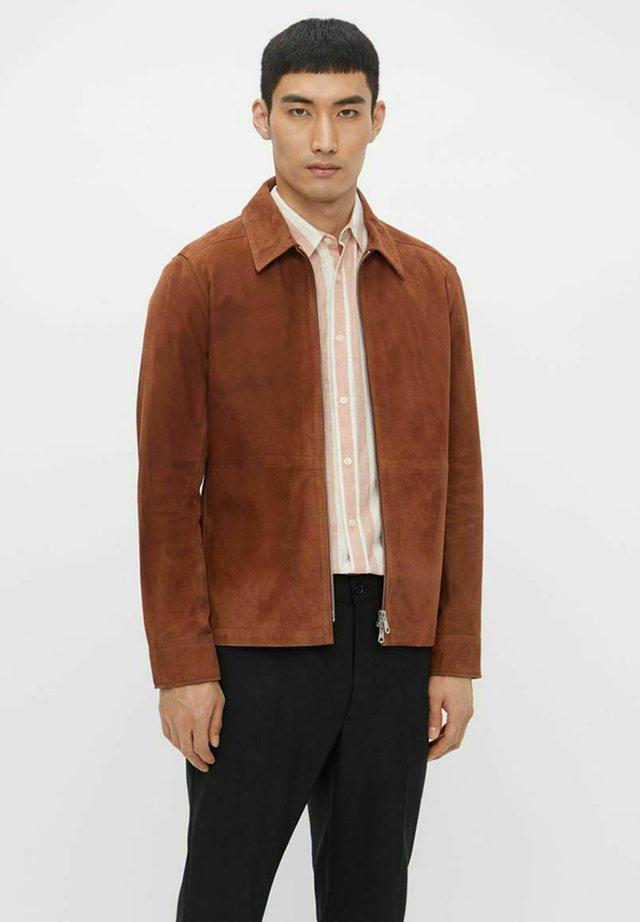 JONAH - Leren jas - brown