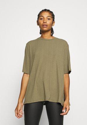 GILL - T-shirt basic - khaki green medium dusty
