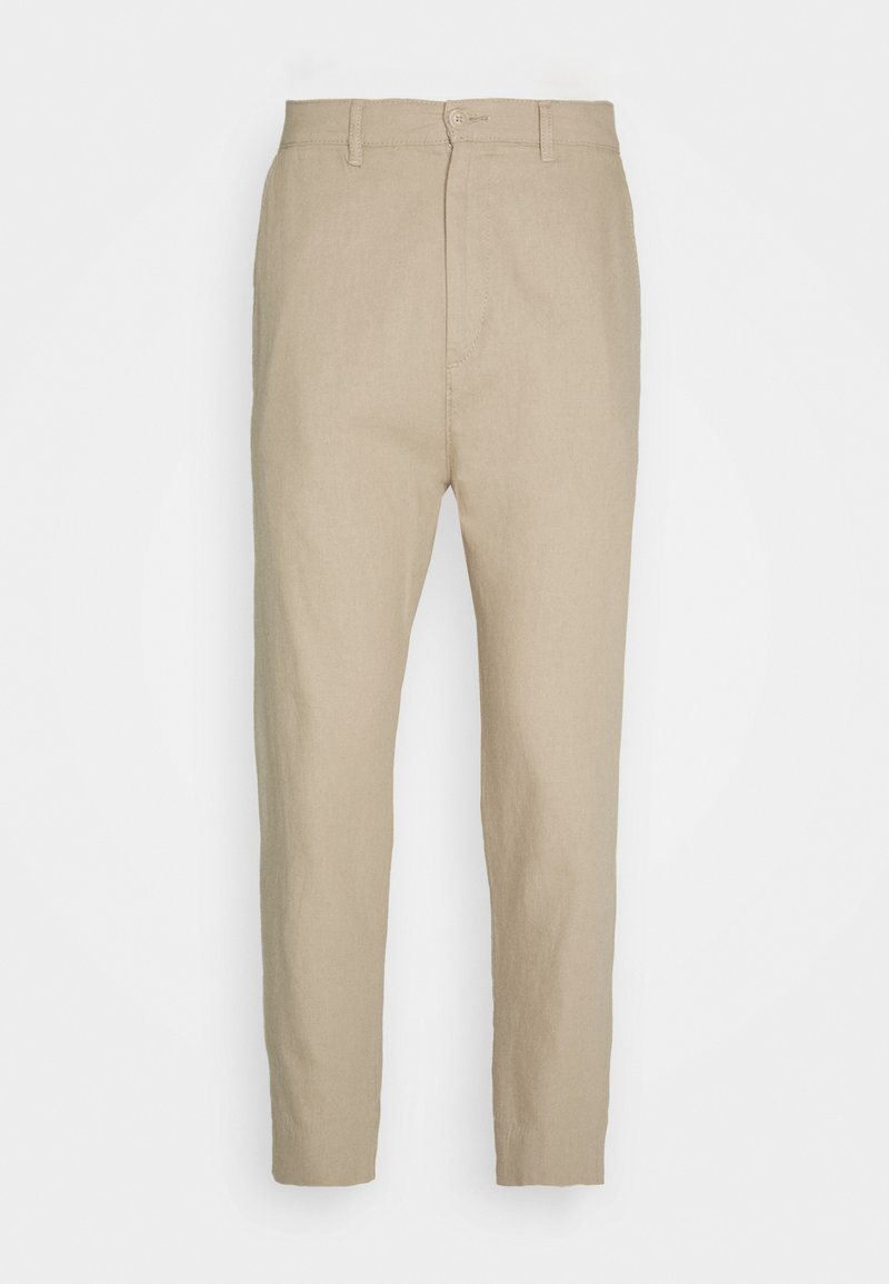 Weekday - ARBUS TROUSERS - Chino kalhoty - beige