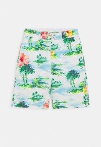 GAP - BOY FLOWER - Swimming shorts - new off white - 0