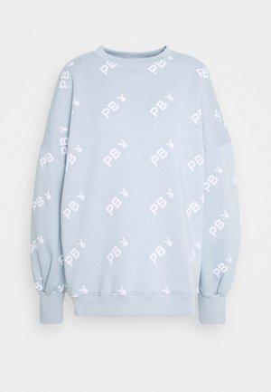 PLAYBOY OVERSIZED - Sweatshirt - dusky blue