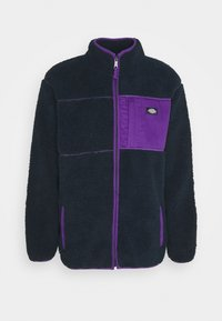 Dickies - CHUTE - Fleecejakker - dark navy/lilac - 3