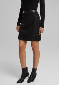 Esprit - Mini skirt - black - 0